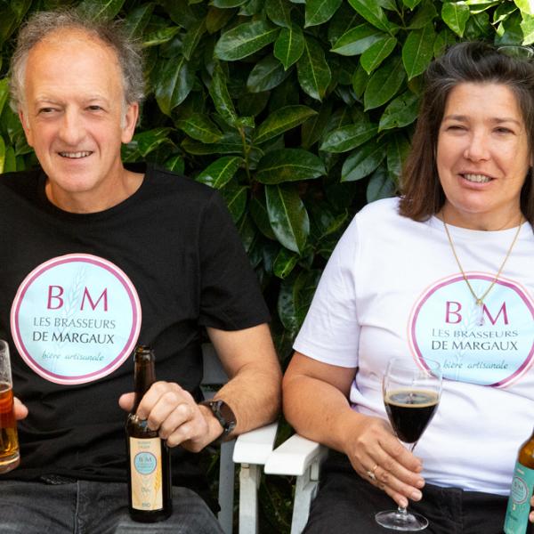 Bières artisanales des Brasseurs de Margaux